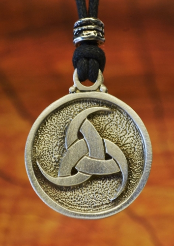Viking triple horn of odin pewter pendant treasure cast viking triple horn of odin pendant aloadofball Gallery