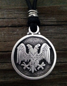 Double Headed Eagle Pendant