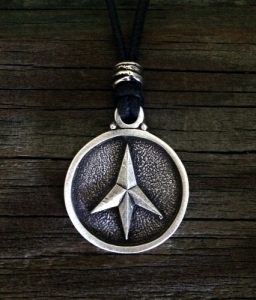 Four Point Caltrop Pendant