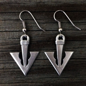 Broad Arrow | Arrowhead | Archer Pheon Earrings