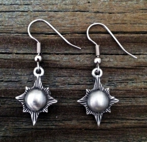 Victorian Sunburst Earrings