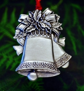 Christmas Silver Bells Christmas Ornament