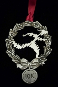 Shu's 10K Runner Christmas Tree Ornament