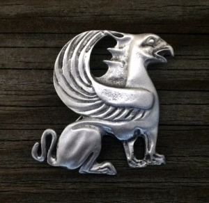 Griffin Brooch Pin