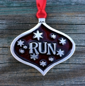 Runner RUN Christmas Ornament