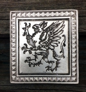 Griffin Belt Buckle Fine Pewter