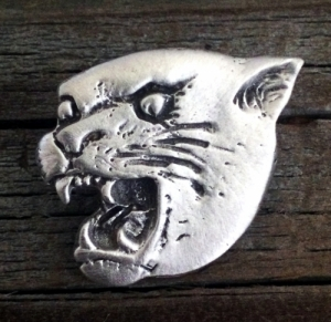 Cougar Pewter Pin