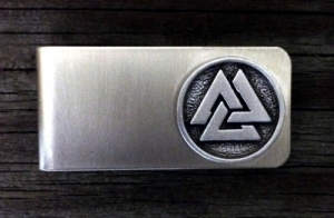 Viking Valknut Money Clip