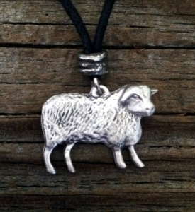 Basque Sheep Pendant