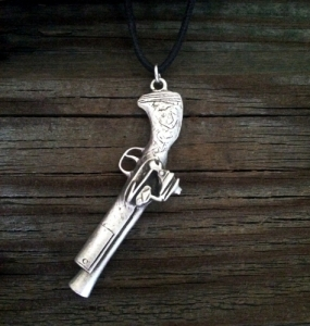 Pirate Blunderbuss Gun Pendant