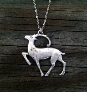 Nordic Deer Necklace
