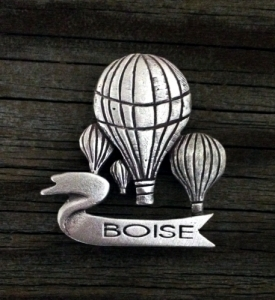 Boise Idaho | Hot Air Balloon | Boise Pin