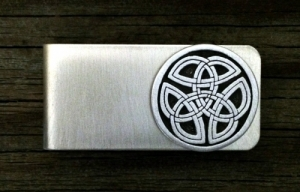 Celtic Tri Knot Money Clip