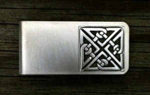 Celtic Square Knot Money Clip