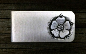 Tudor Rose Money Clip