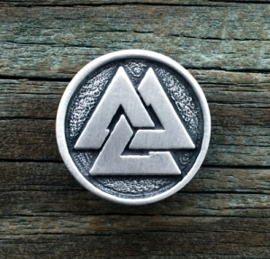 Viking Valknut Pin